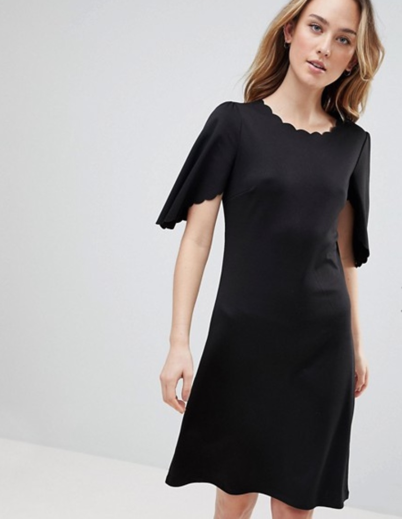 Y.A.S Tall Sulaima Mutton Sleeve Dress