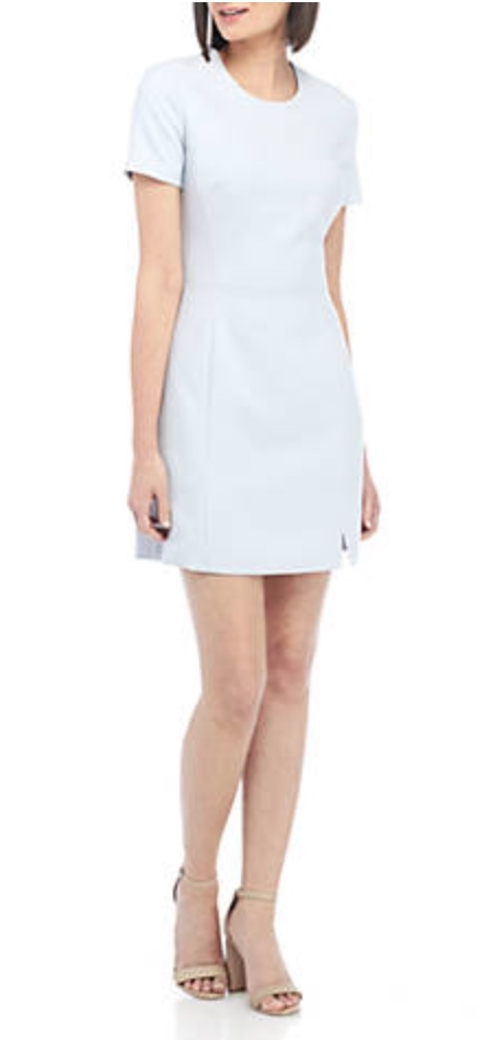 French Connection Whisper Cap Sleeve Dress