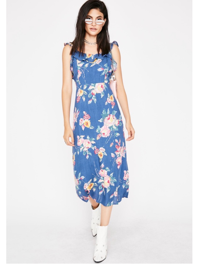 Nothing But Love Midi Dress