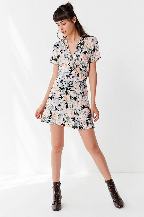 Auguste The Label Gardenia Ruched Dress