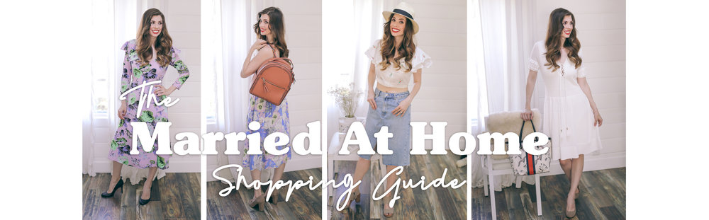 Where To Shop | The Married At Home Shopping Guide