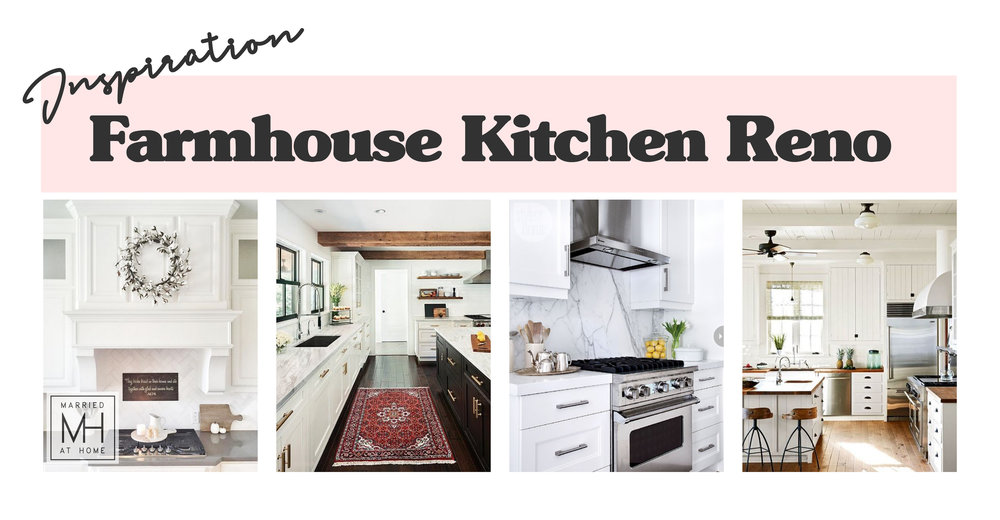 Farmhouse Kitchen Renovation Inspiration | Married At Home