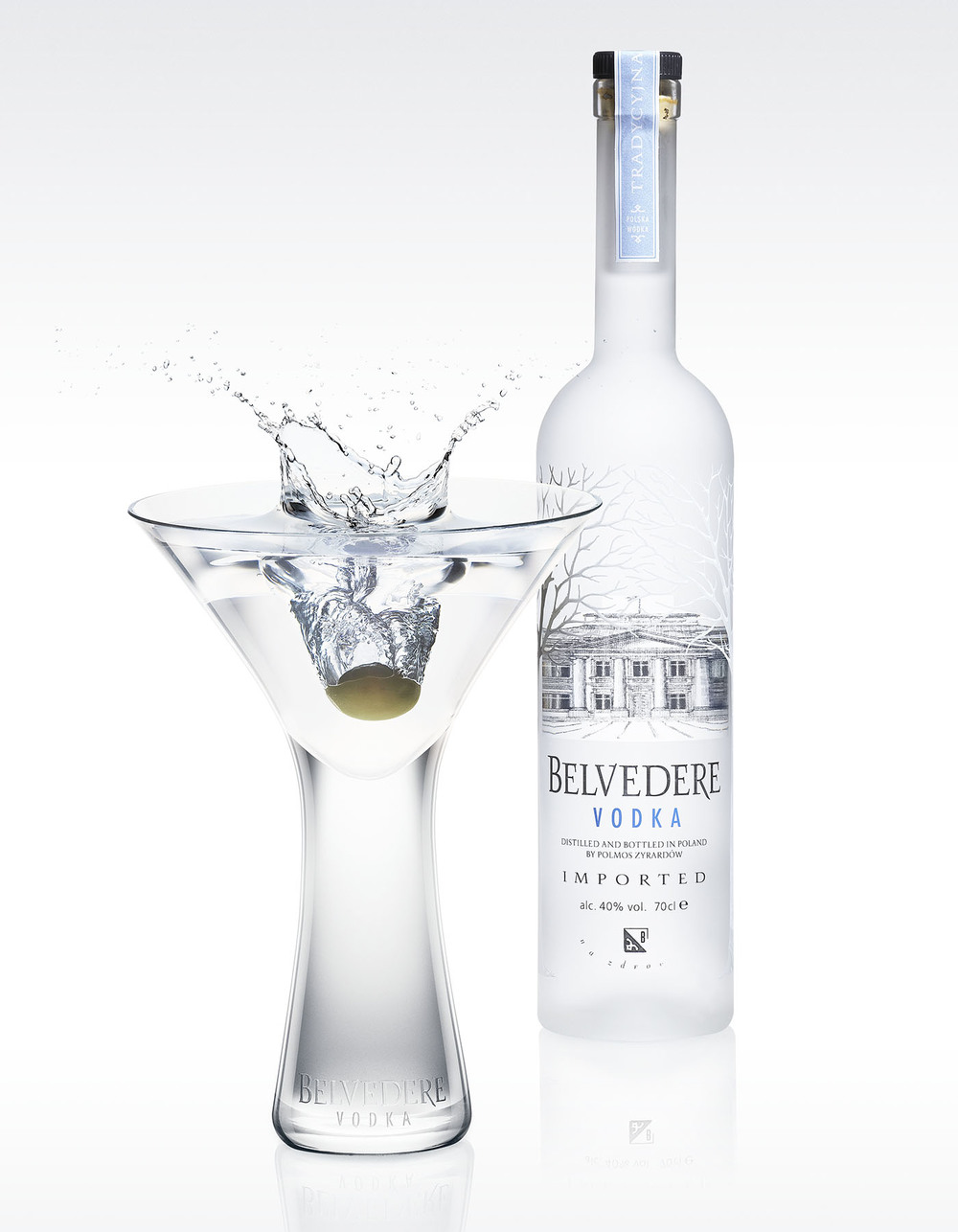 Client: Belvedere  Tasks: Photography, retouch, grading.