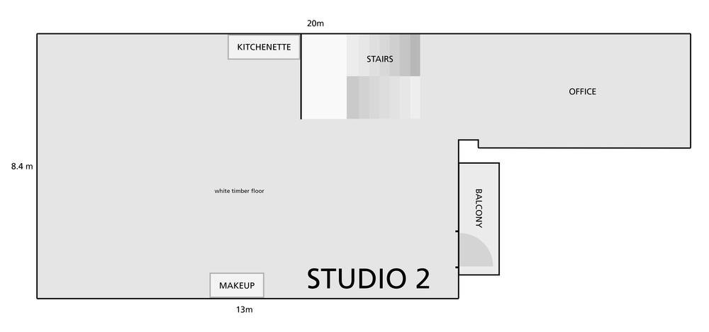 Studio 2 plan