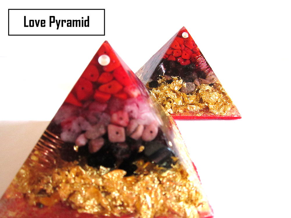 Orgone Love Pyramid