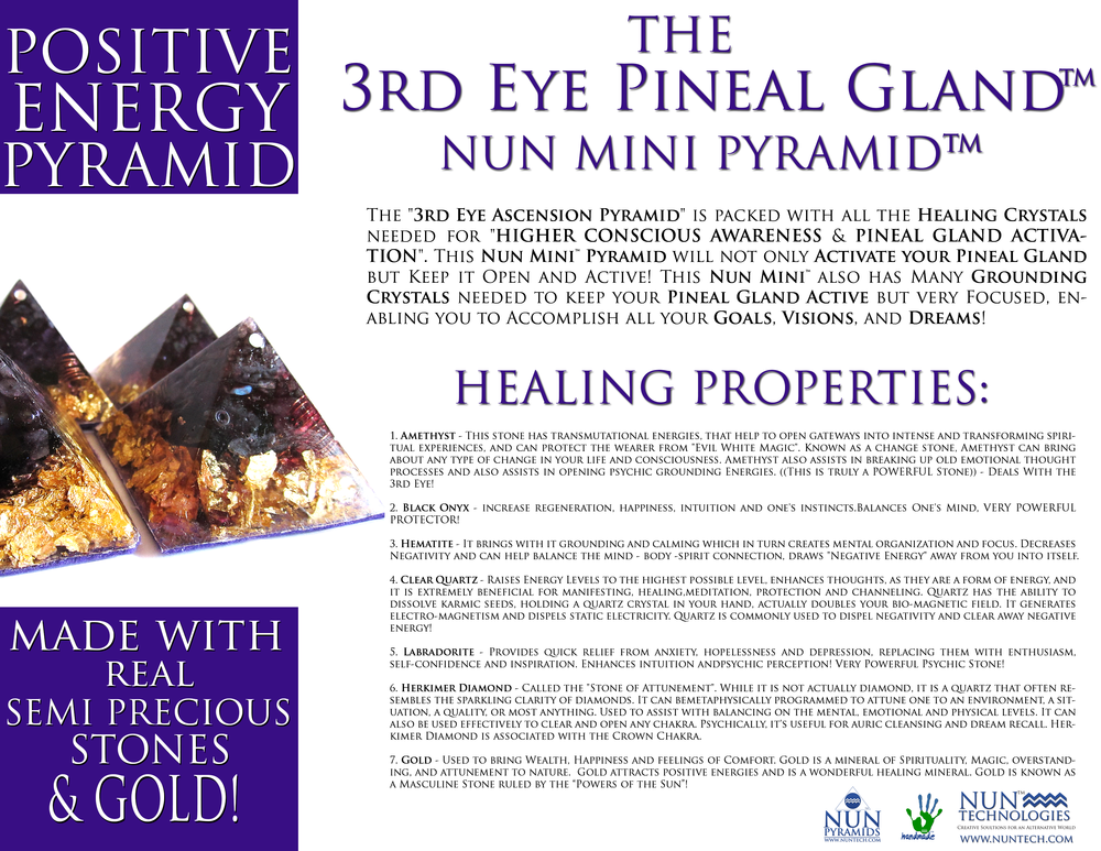 3rd Eye Pineal Gland Mini Promo Flyer.png