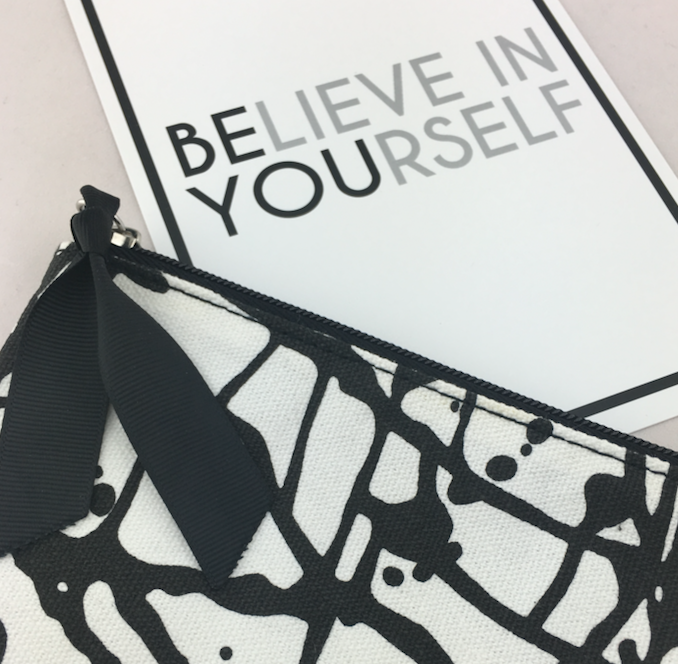 Click here to get the Confidence Box and remind yourself or someone you care about to believe in themselves!