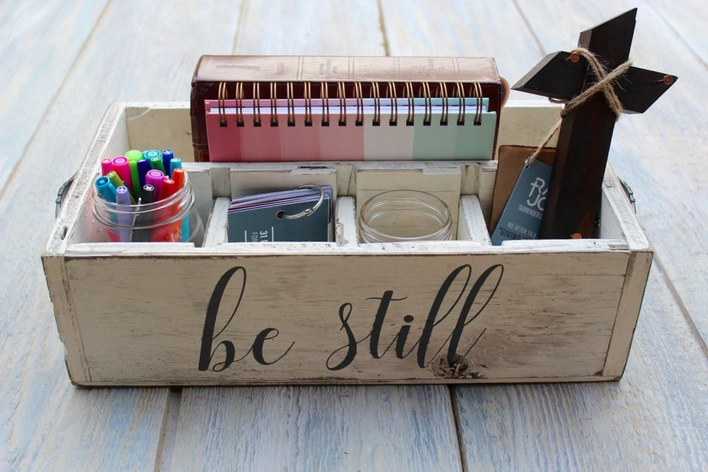 Help her organize her Bible study and prayer time with a Rad Joy handmade  Rad Box .