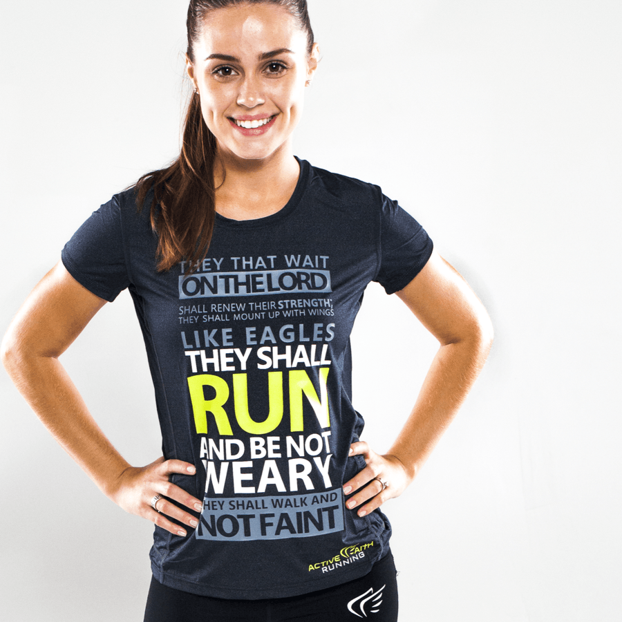 Encourage athletes and fitness enthusiasts with  Workout Gear  from Active Faith.