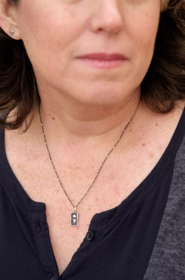 Every woman should have this reminder of hope. The  But God Semicolon Necklace  from Holly Lane Christian Jewelry.