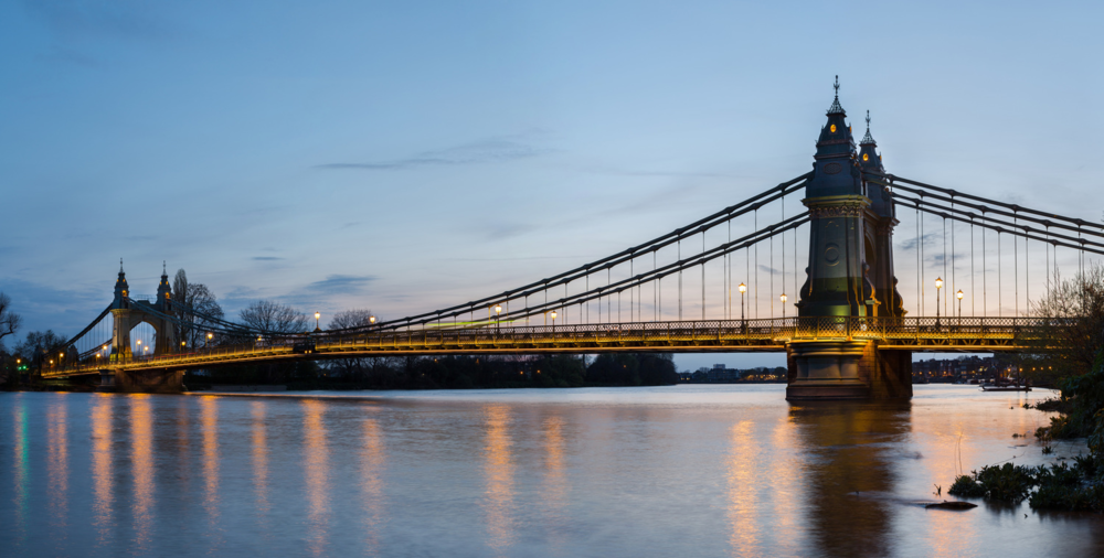 Hammersmith Bridge, London