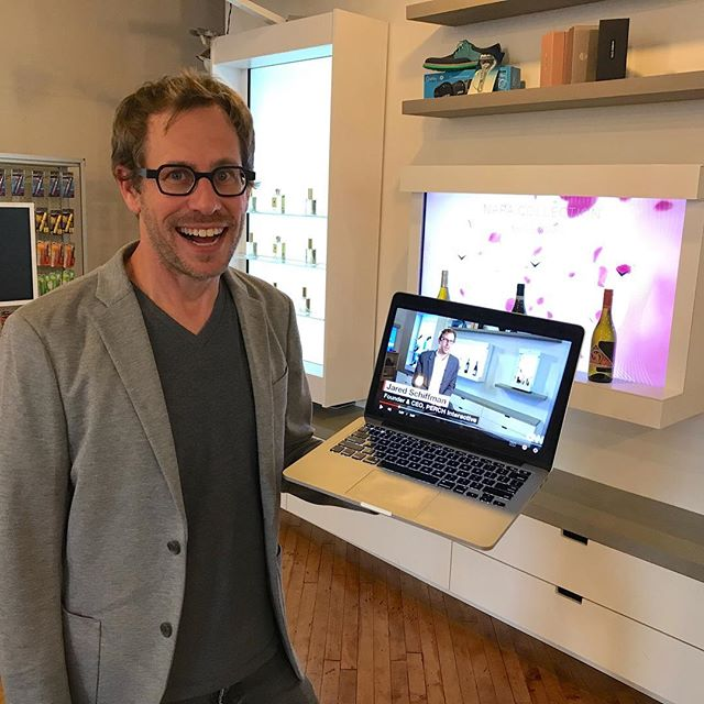 Inception! We're so excited to be featured on @CNN for revolutionizing the shopping experience. Link in bio!  #cnn #innovation #retailtrend #revolutionize #interactive #tech #startup #shop #display