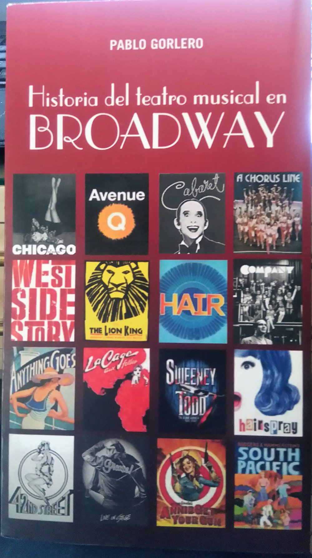 Required Reading Material: Historia del teatro musical de Broadway -