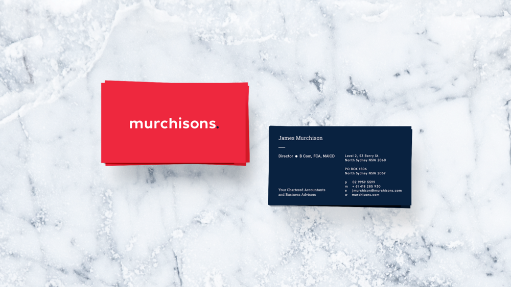 Murchisons chello business cardsg reheart Images