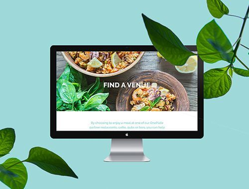 <tag>design, branding, digital, photography</tag>OnePlate<br>Brand Creation