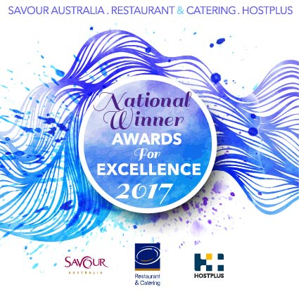 Restaurant & Catering Association (SA) Savour Awards for Excellence CAFE OF THE YEAR (National) 2017