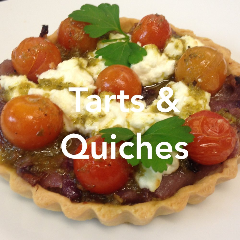 Artisan Cafe Catering Tarts & Quiches