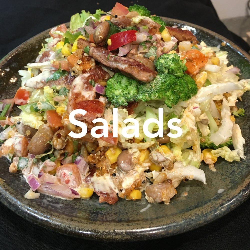 Artisan Cafe Catering Salad Menu