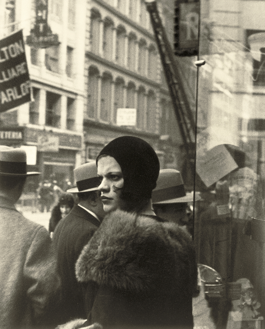 Girl On Fulton Street By Walker Evans