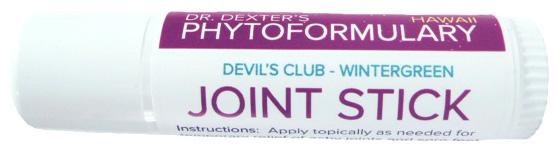 DrDextersPhytoFormularyJOINTSTICK