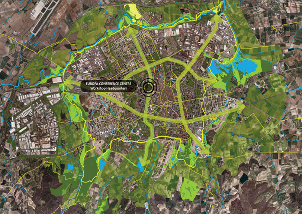 Figure 2: The Green Belt of Vitoria-Gasteiz (34)