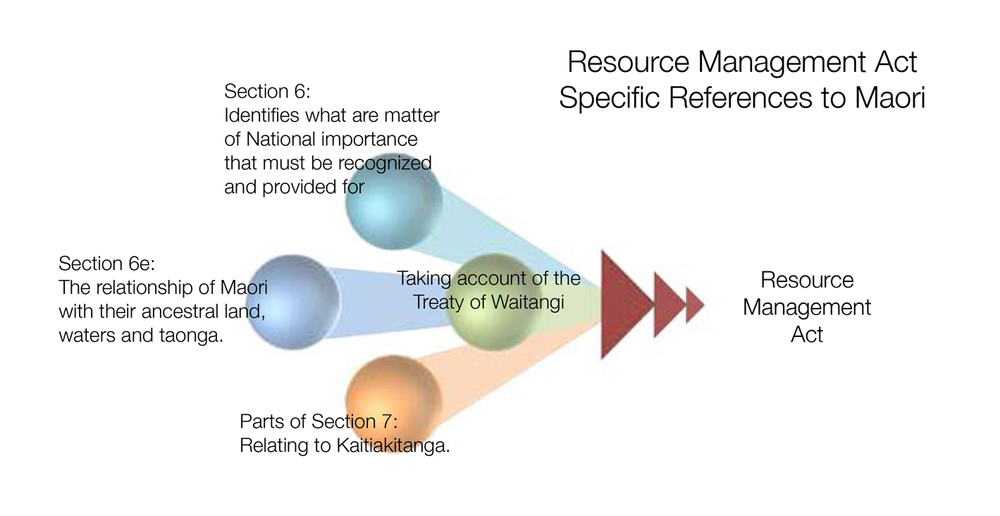 Figure 6: Resource Management Act Specific References to Maori