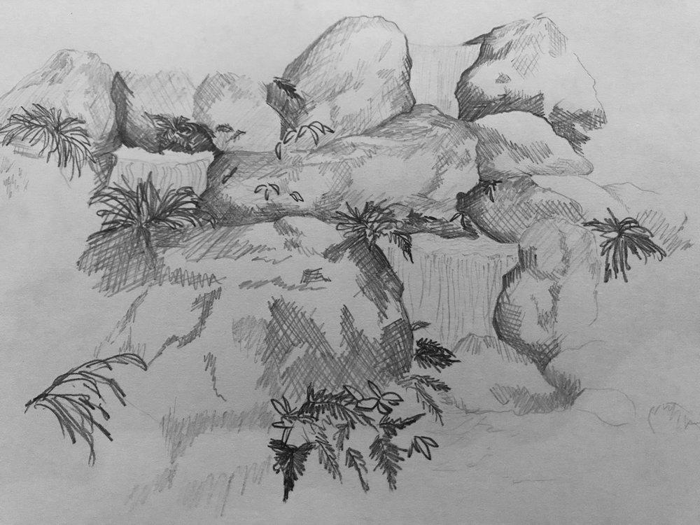 Murin-An, Three Tiered Waterfall, Kerryann Romero