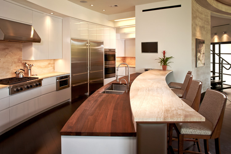 Check Out These Examples Of Well Designed, Functional Kitchens That Do An  Amazing Job At Mixing Different Countertop Materials.