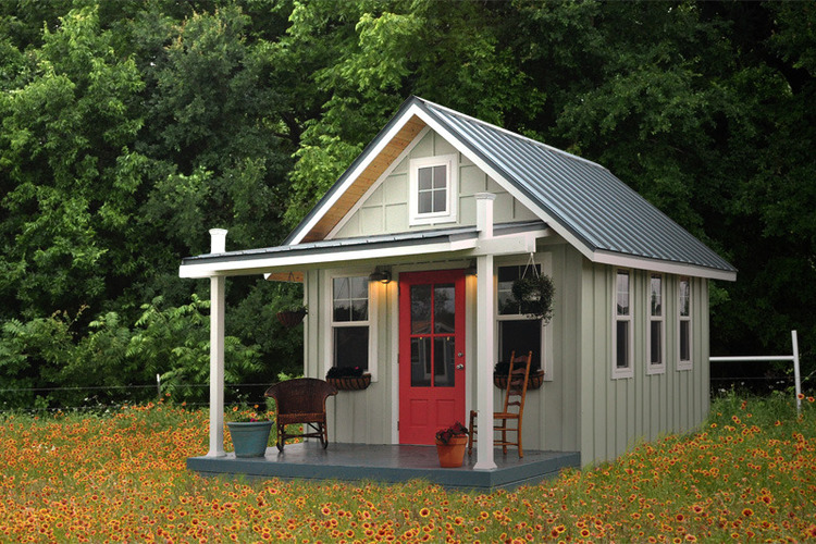 Shedquarters Your New Home Office Pool House Man Cave Artist - Prefab backyard office