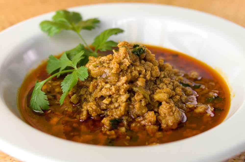 #17 Chicken Kabat (Kyat Thar Kabat) - $10