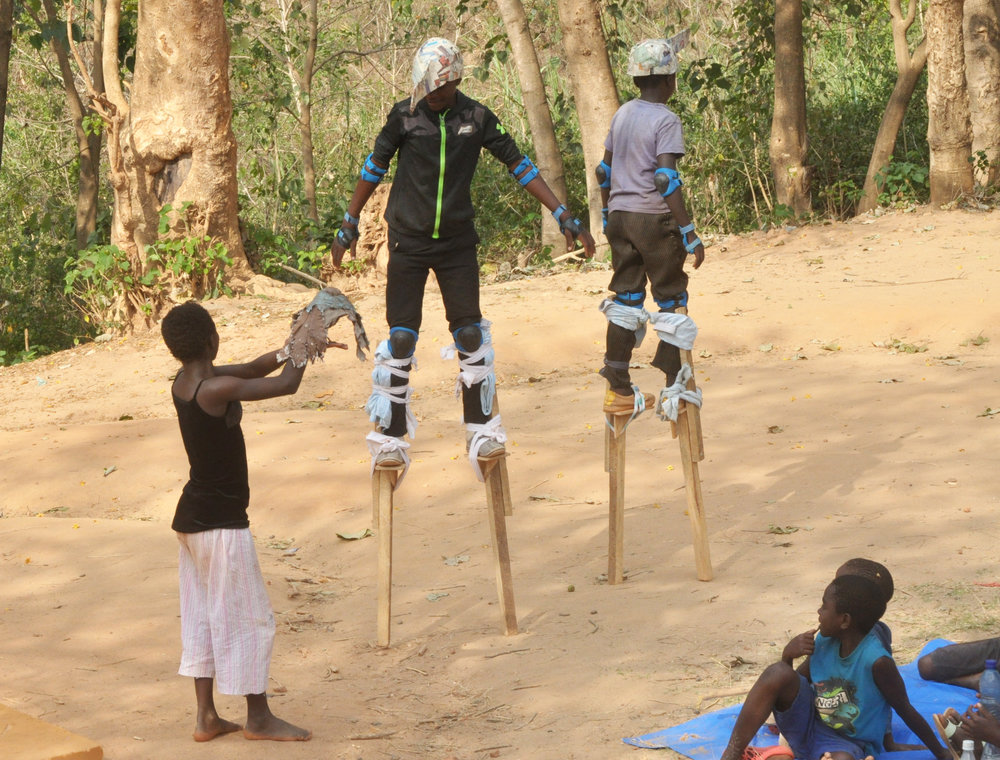 stilt practice Kalambwe - with cuckoo.JPG