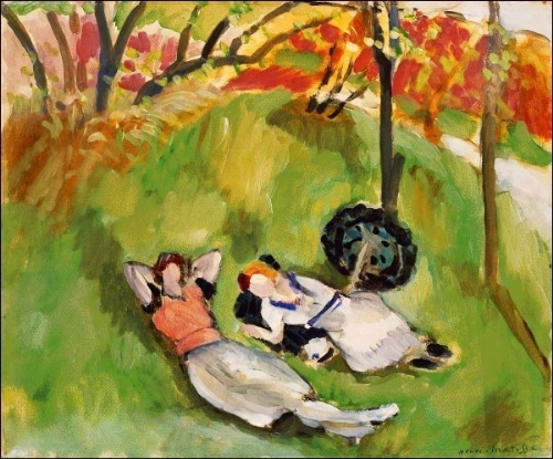 "Henri Matisse ""Two Figures in a Landscape"", 1921"