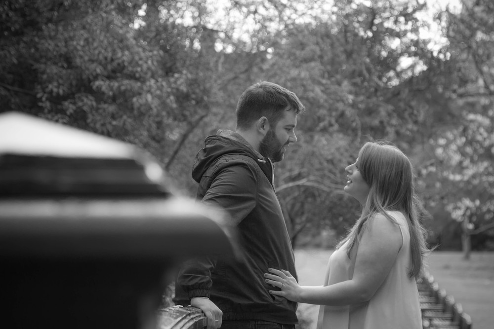 Cardiff wedding photographer Nathan Marshall shot this pre engagement shoot at Roath Park.