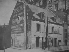 First Meeting House: Fortification Lane, Old Montreal, 1842-1844
