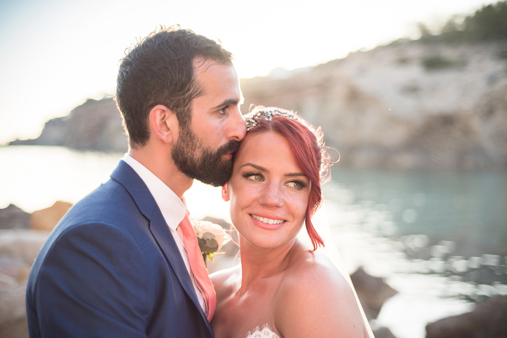 Astrid & Dale  Elegant & Chic Beach Wedding,  Elixir Shore Club , Ibiza