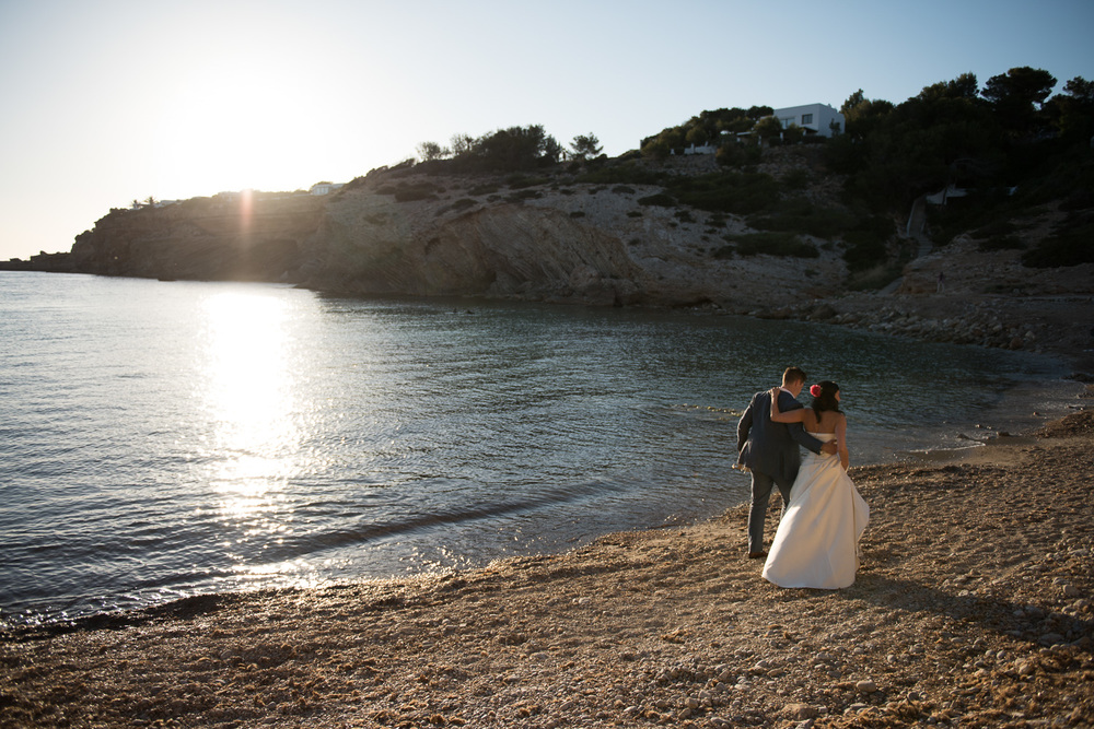 Jenan & Patrick  Spanish-inspired Destination Wedding,  Elixir Shore Club , Ibiza