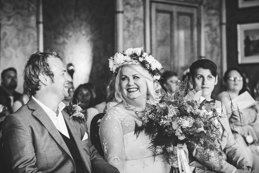 Kate & Lee  A  Royal Pavilion  & Beach Wedding, Home-made and Ethical, Brighton
