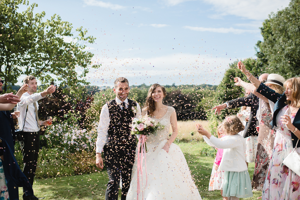 Eli & Jon  Elegant, romantic barn wedding on the family farm home in Dover