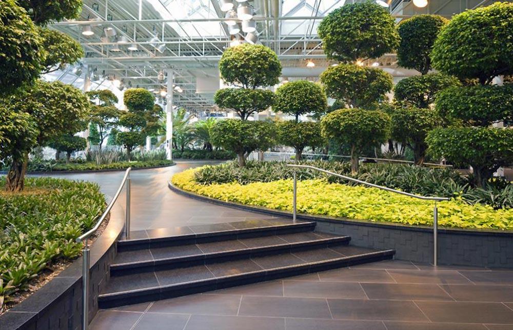 Devonian Gardens.  Architecture by McKinley Burkart.