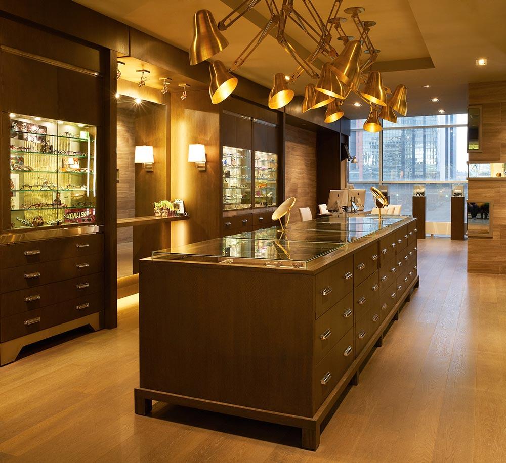 Brass Monocle.  Retail Architecture & Interior Design by McKinley Burkart.
