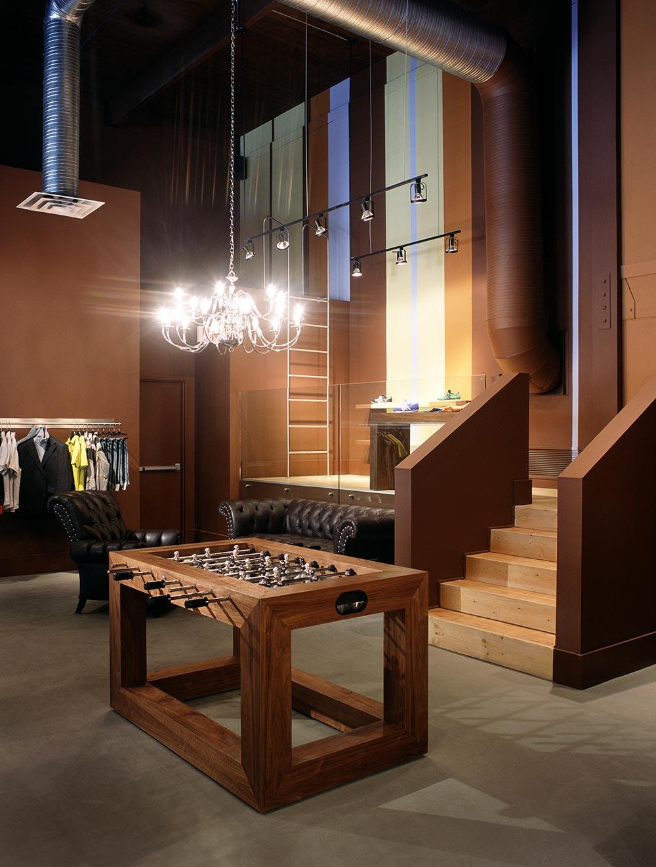 Henry Menswear.  Retail Architecture & Interior Design by McKinley Burkart.