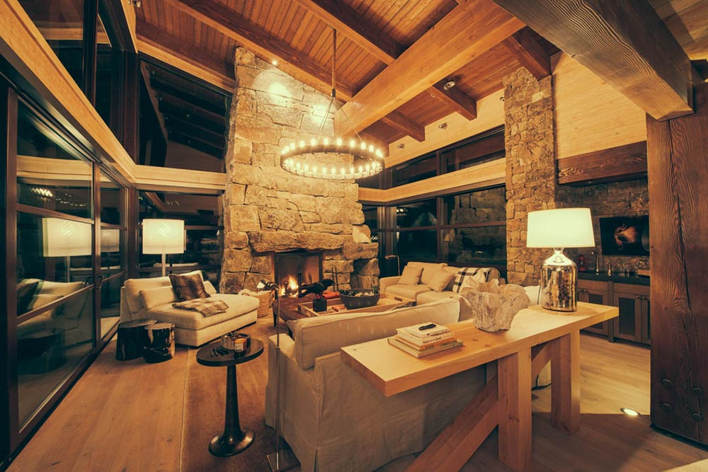 Mountain Cabin.  Name of Project. Residential Architecture & Interior Design by McKinley Burkart.