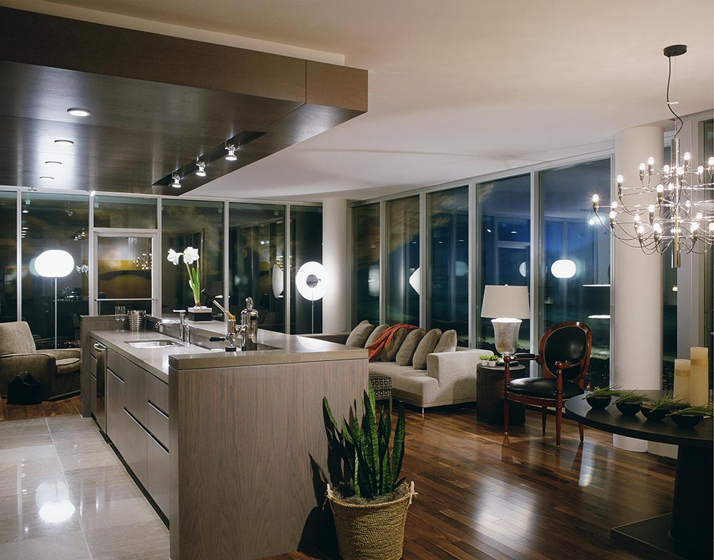 Condominium Interiors.  Name of Project. Residential Architecture & Interior Design by McKinley Burkart.