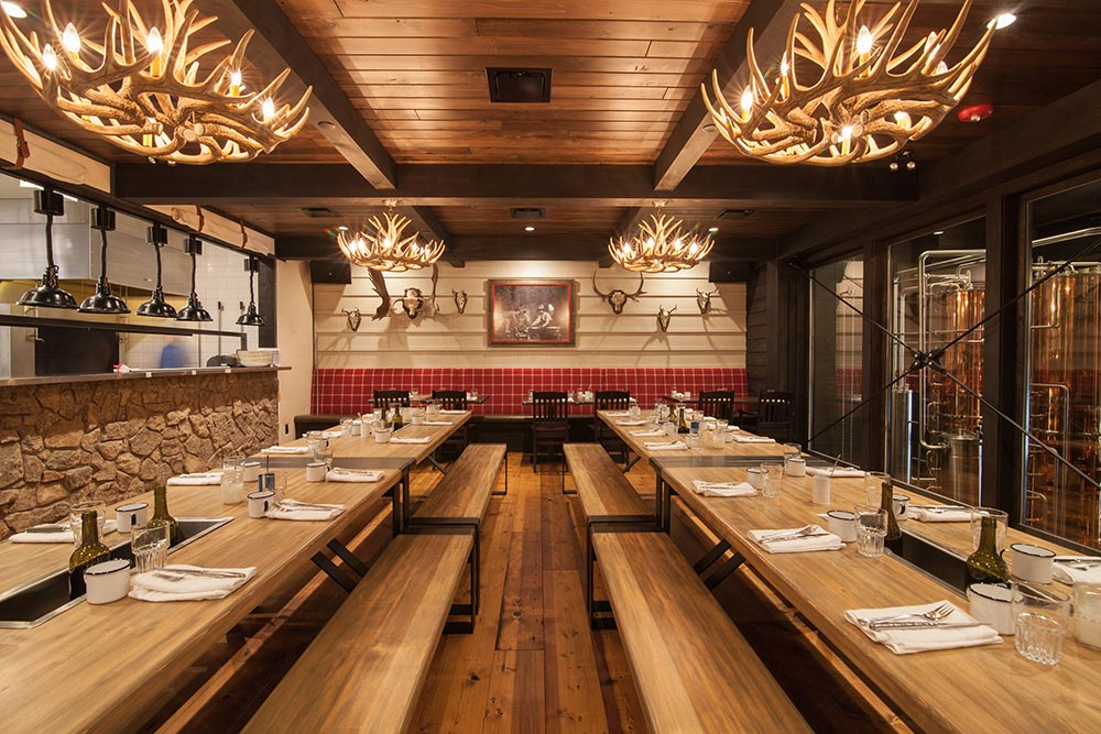 Park. Restaurant Architecture & Interior Design by McKinley Burkart.