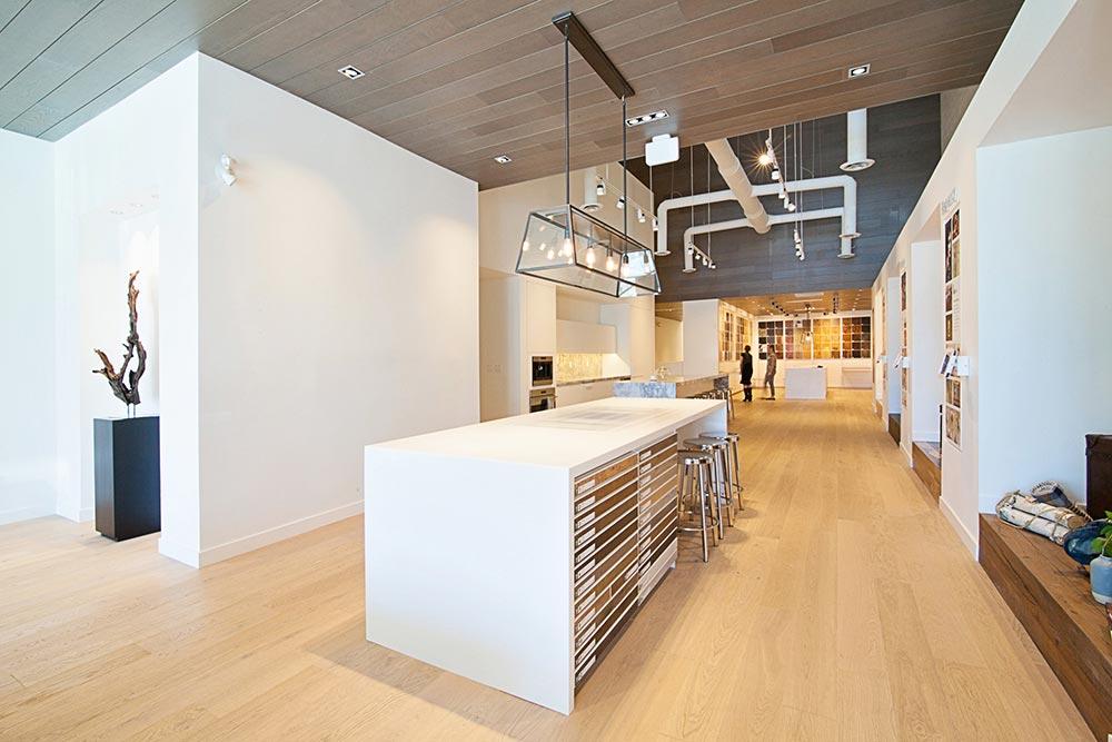 Divine Hardwood.  Retail Architecture & Interior Design by McKinley Burkart.
