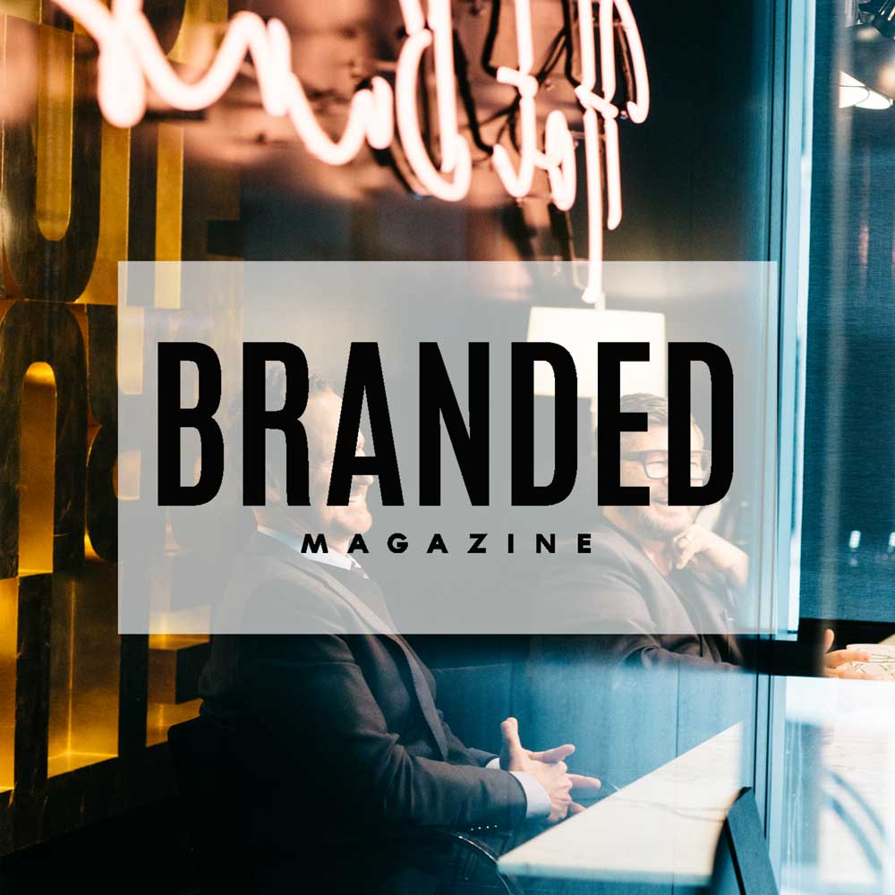 Branded Magazine Calgary. January 2016. Game Changer Award.
