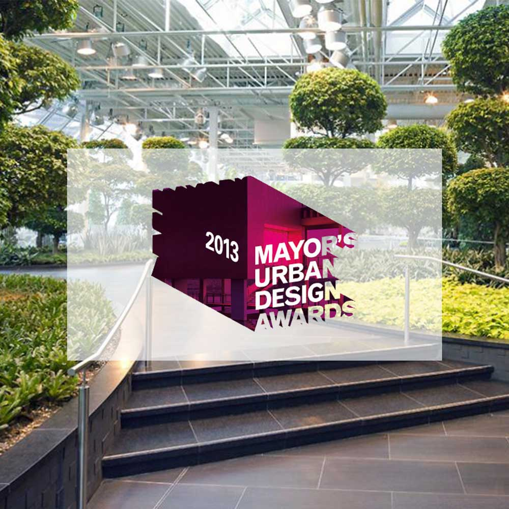 Devonian Gardens. 2013. Mayor Urban Design Award Calgary.