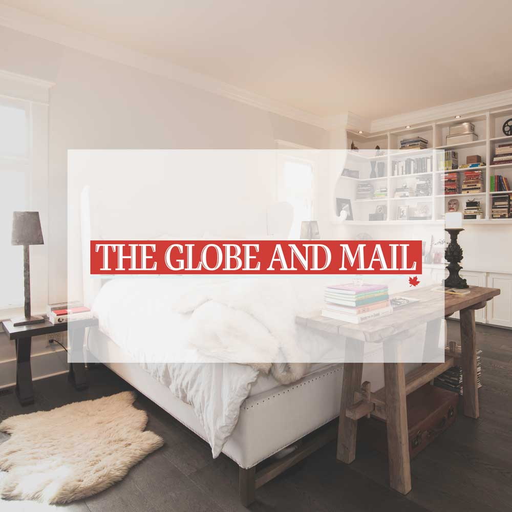 April 2014. Why this is architect Mark Burkart's favourite room. Interior design by McKinley Burkart. The Globe and Mail.
