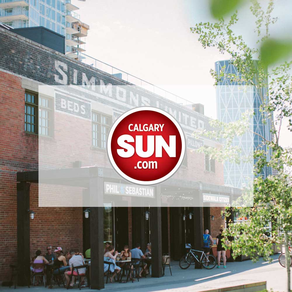 July 2013.  The Calgary Sun. Simmons building in Calgary's East Village to be redesigned as a culinary hub. Interior Design and Architectural Restoration by McKinley Burkart.