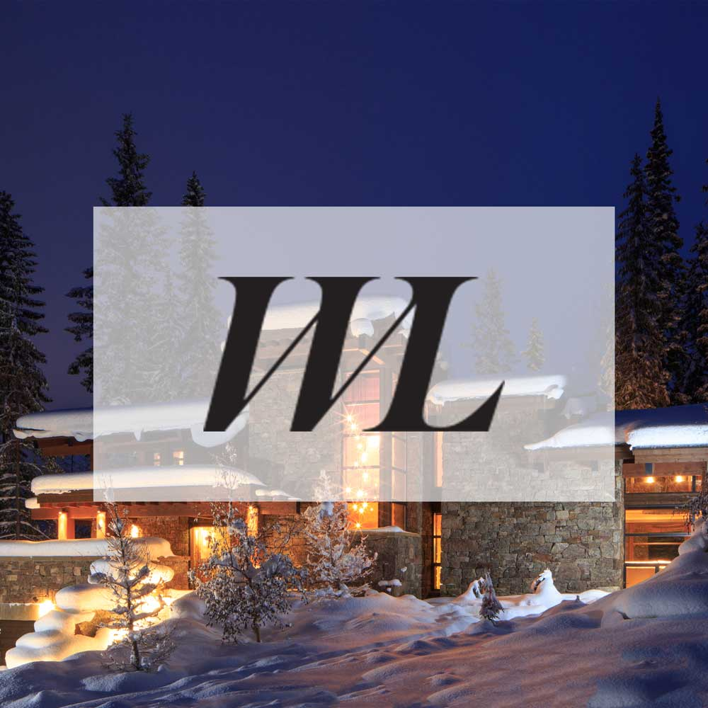 Western Living Magazine. February 2016. Danish-inspired ski cabin in Golden, BC.